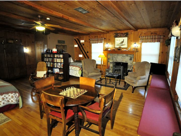 The Game Room at The Brewster Inn B&B