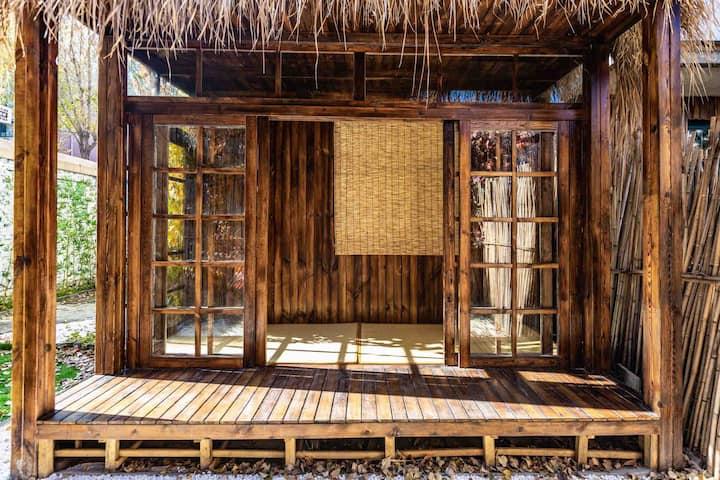 柒斋日式民宿带庭院