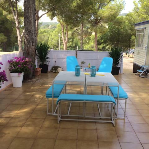 Lovely mobile home near Benidorm (all included) - Finestrat - Jiné