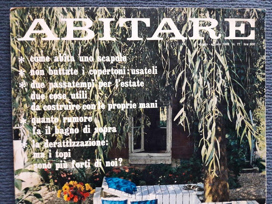 """pubblicata sulla rivista """"Abitare"""" nel 1969"""