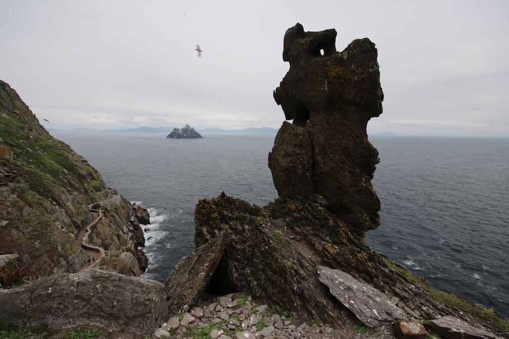 On Skelligs Rock