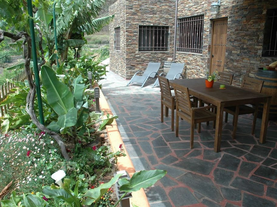 Large terrace is perfect to enjoy breakfast in the morning.