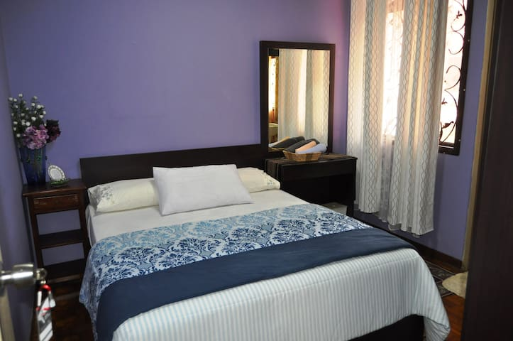 Peach Room (connected with Blue Room): Air Conditioner Hot Water (strictly no cooking and ironing in the room)