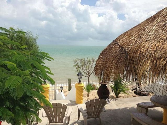 Beachfront rental home - 20 guests - San Felipe - Ev