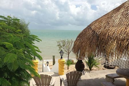 Beachfront rental home - 20 guests - San Felipe