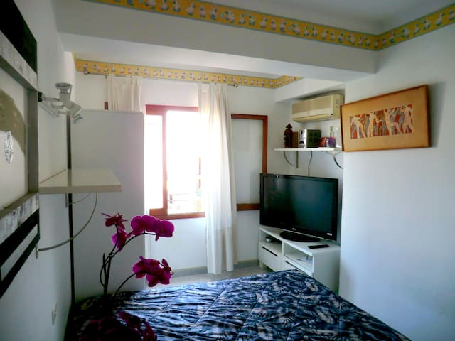 Schlafzimmer mit Doppelbett - Palma - Appartement en résidence