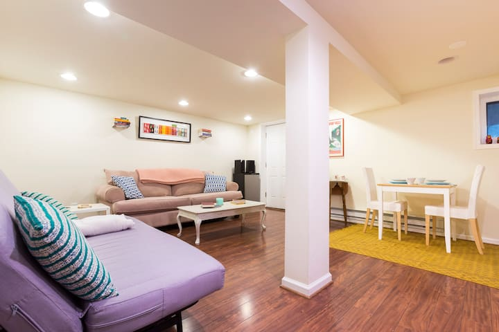Private Basement Suite in Lovely Petworth