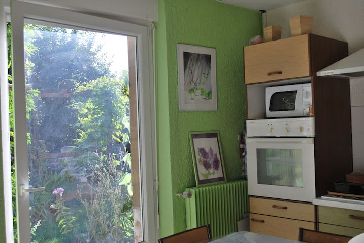Loft , cuisine et sdb 80 m2 - Hœnheim - Loft