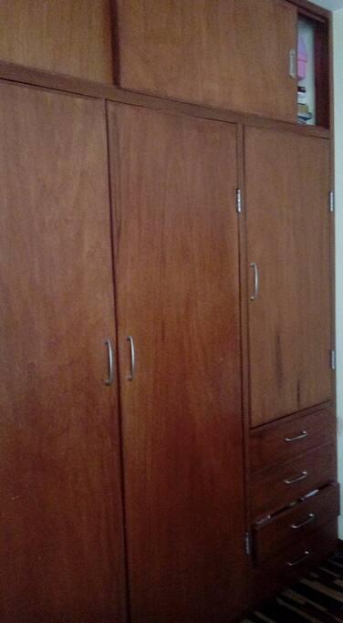 Closet empotrado