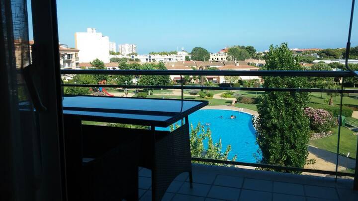 Apartamento en Platja dAro con piscina comunitaria