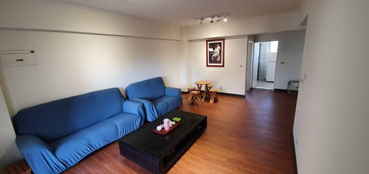竹北生醫園區樂居 Hsinchu(Zhubei) Apartment for 3-6 people