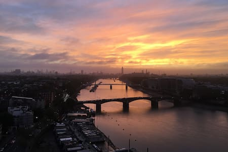 Luxury Double Room with Stunning Views - Chelsea - London - Wohnung