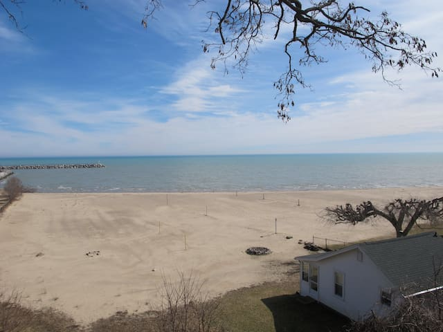 Cottage with Private Beach, Close to Village!