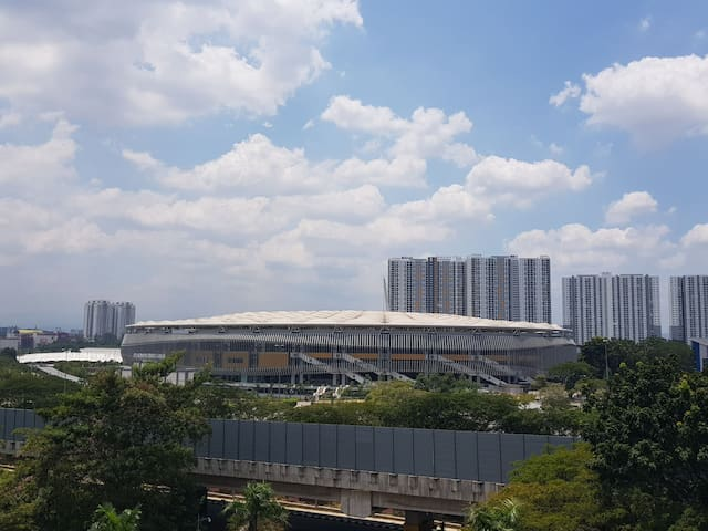 Axiata Arena View @ Bukit Jalil (100Mbps internet)