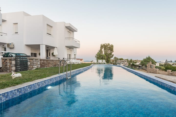 Gennadi  Summer Villa Sharing Pool No4