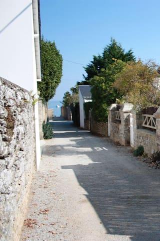 Belle maison à 50m de la plage 8per - Saint-Pierre-Quiberon - Huis