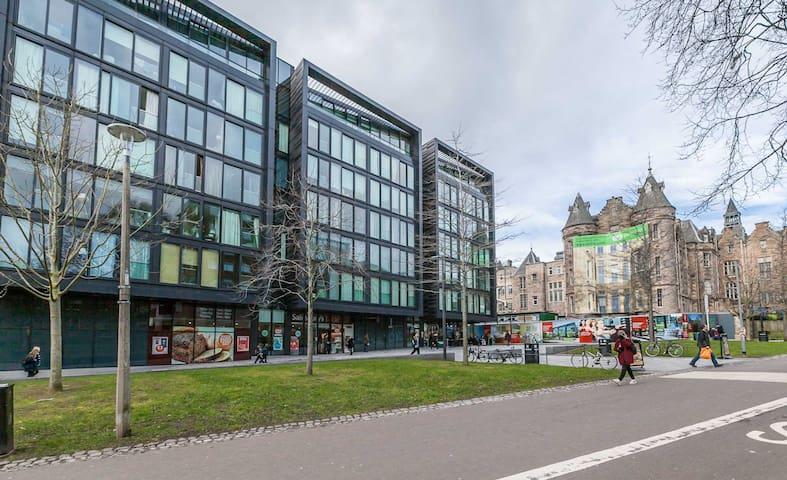 Superb Quartermile apartment with city views