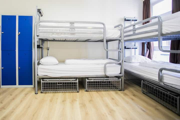 Bed in 4 Bed Dorm