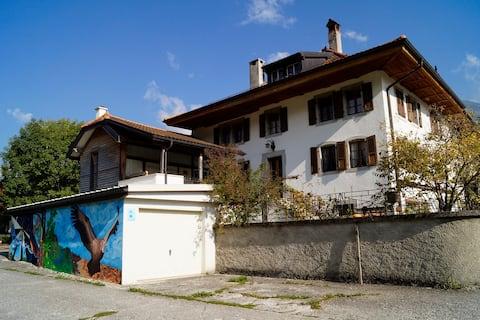 Maison de 1880 pleine de cachet jardin et terrasse