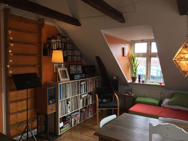 Charmerende musikerbolig i hjertet af Aarhus