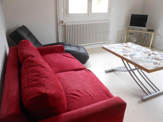Appartement dans une maison , balcon et jardin - Bourg-Saint-Maurice - Apartment