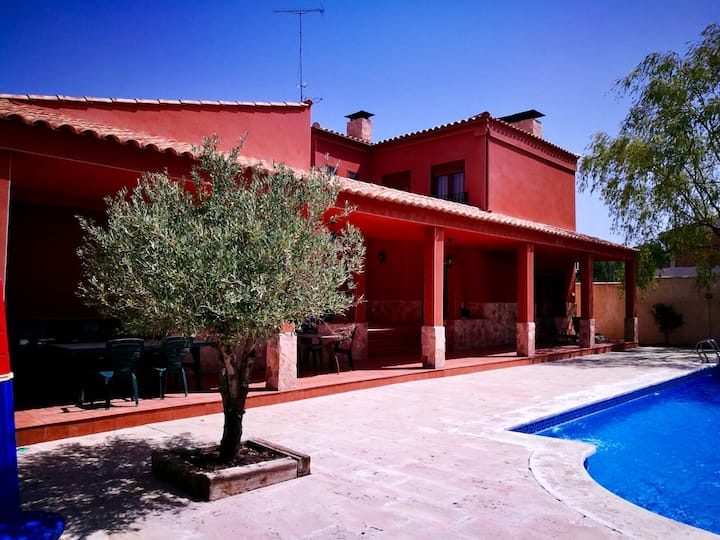 Villa with 4 bedrooms in Arcas, with private pool and WiFi