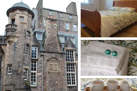 St Giles Views | off Royal Mile | Double Bed - Edimburgo - Bed & Breakfast