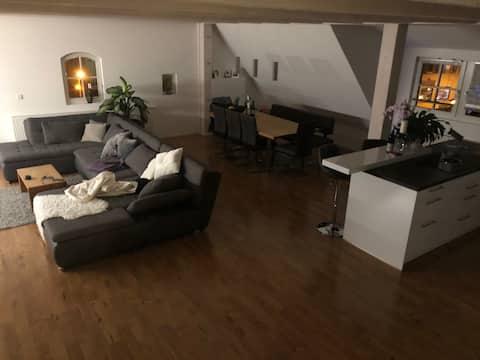 moderne Wohnung im ältesten Haus Rückersdorfs