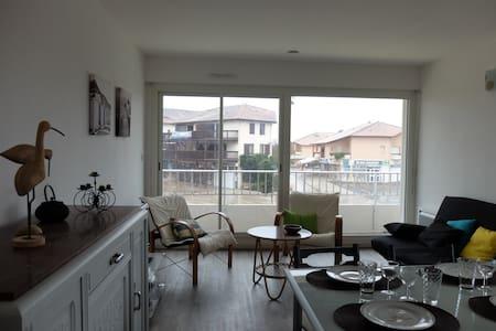Grand T2 idéalement situé - Vieux-Boucau-les-Bains - 公寓