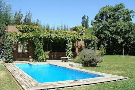 Comfortable house near mountains in Chacras w/pool - Chacras de Coria - Talo