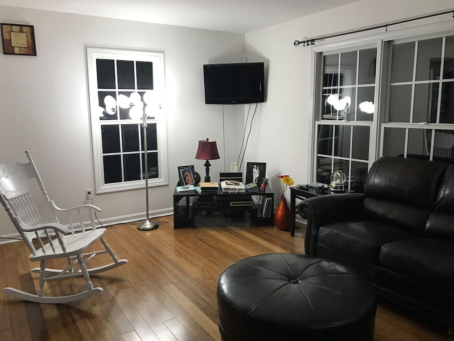 Entertainment Center in the Living Room