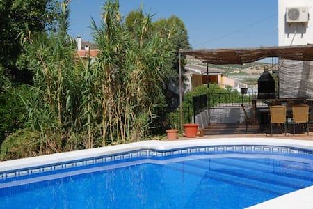 Beautifully restored flour mill with private pool - Salar - House