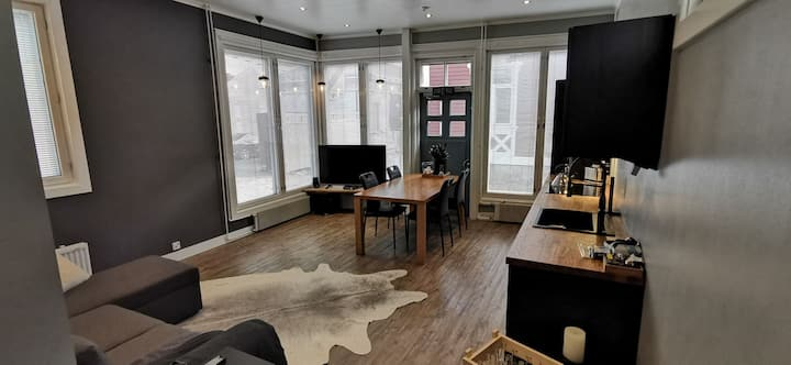 Luxury apartment In the middle Of old Rauma