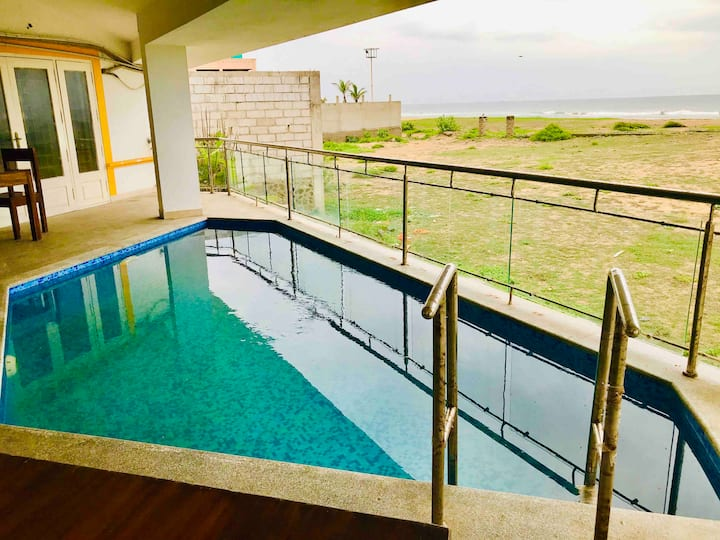 Coastal Paradise Beach House at ECR Thiruvanmiyur