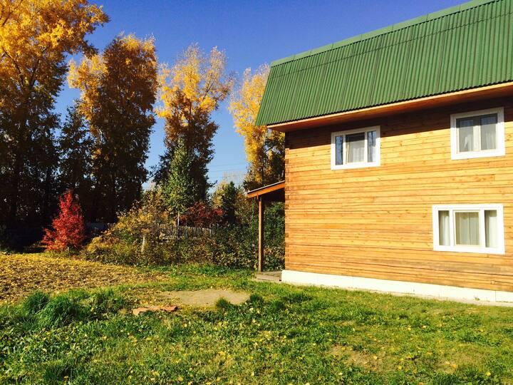 Дом в Красноярске на Универсиаду
