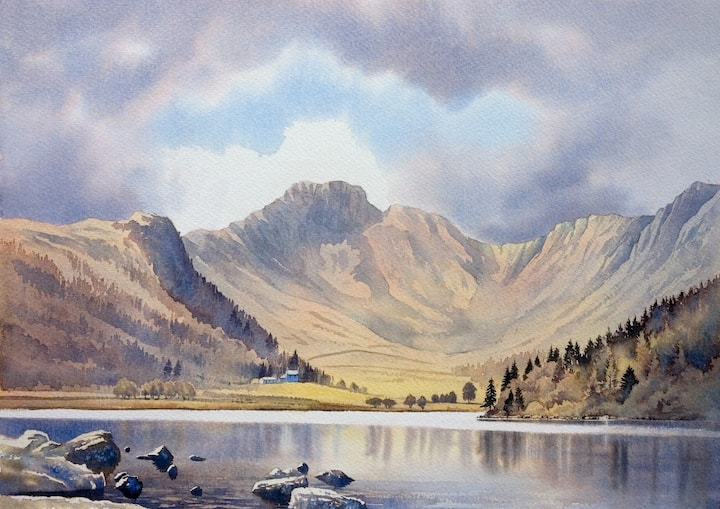 Llyn Crafnant by Chris Hull