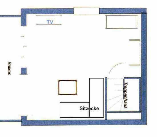 Haus Blütenzauber, (Sipplingen), Ferienwohnung Dahlie, 60qm, 1 Schlafzimmer, max. 2 Personen