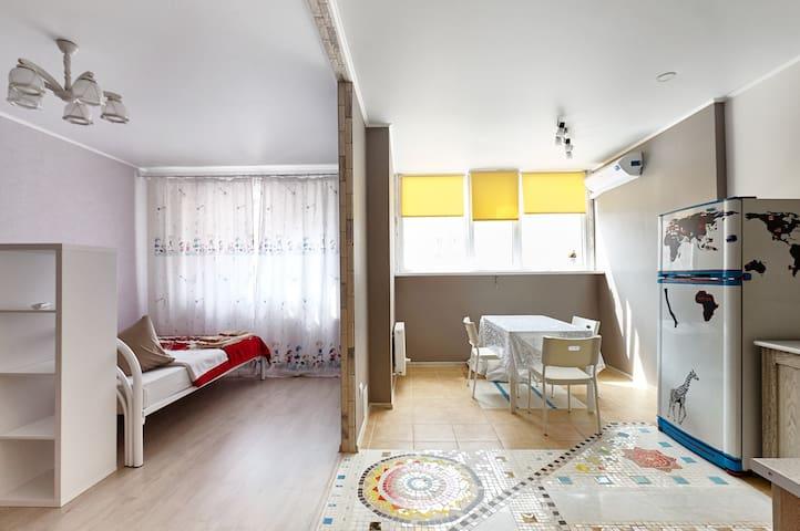 Сдам  посуточно однокомнатную квартиру  Краснодаре - Krasnodar - Apartment