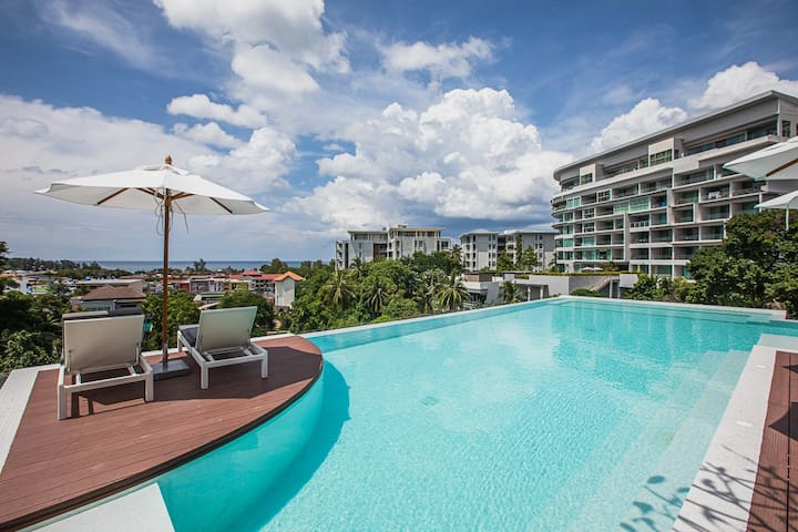 @PALMETTO #506 **ROOFTOP SEAVIEW POOL**KARON