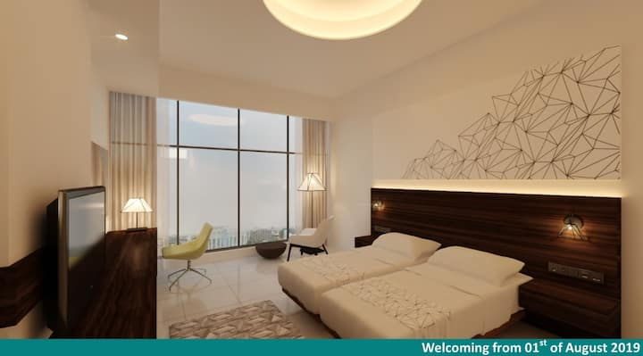Premium Room with City View at Elyon Colombo