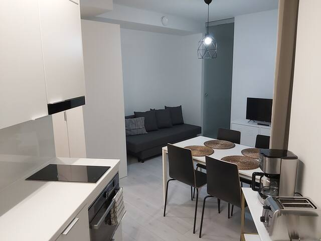 Modern DT  2R Apartment -Self Check-In & Free WiFi