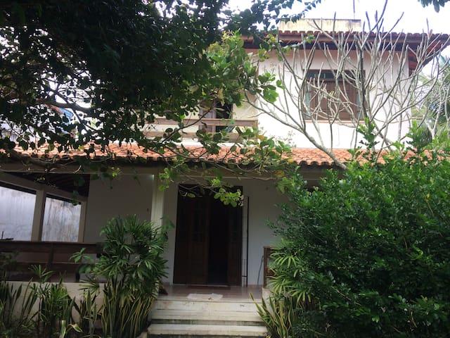 Casa do sossego na ilha de Cacha Pregos 50 mts mar
