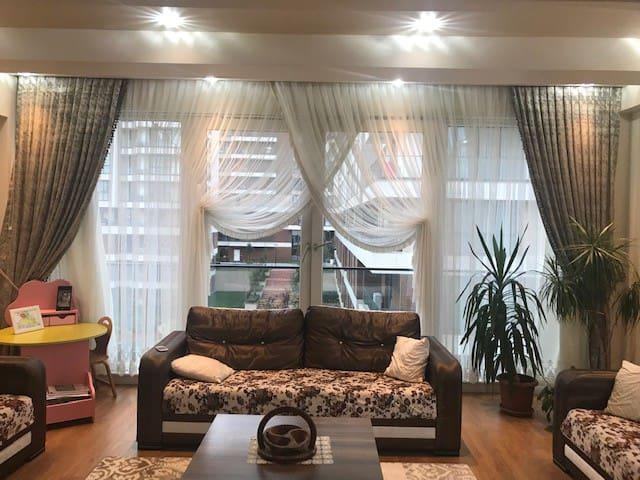 شقة جميلة (3+1) مفروشة للإيجار في بشكشهير/كياشهير