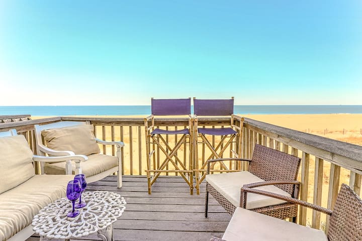 Right on the ocean!Truly Oceanfront,pets/7P/Park 2