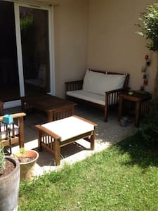 Appartement avec jardin privatif - Appartement