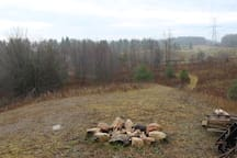 View from the escarpment fire pit