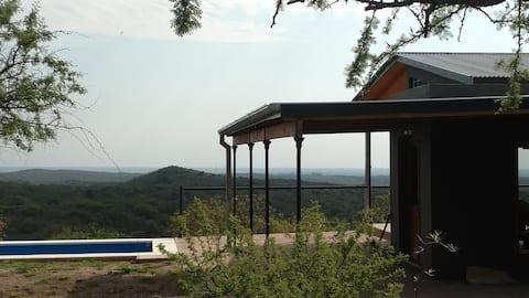 El Campito, Casa en altura rodeada de naturaleza.