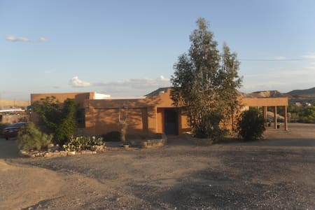 Aranda House - central location - Terlingua