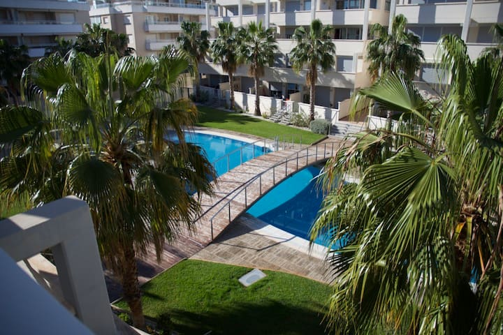 Three bed apartment ,wi fi, pool and large terrace