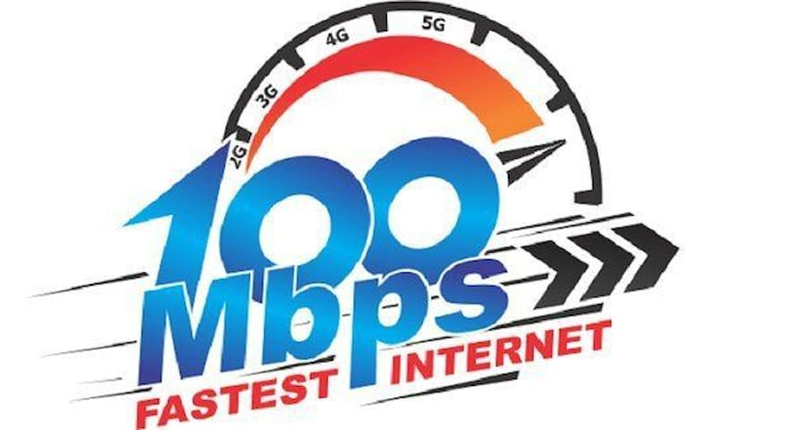 High Speed 100mbps WiFi